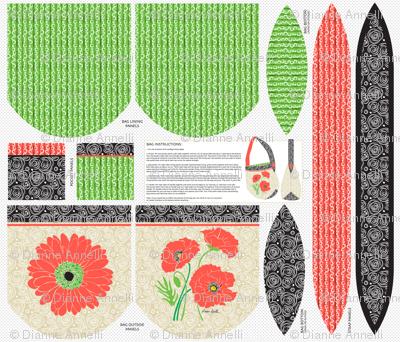 Blooming Boat-Bottom Bag