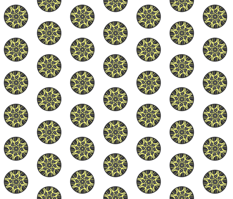 mandala3 fabric by designsbychelsee on Spoonflower - custom fabric