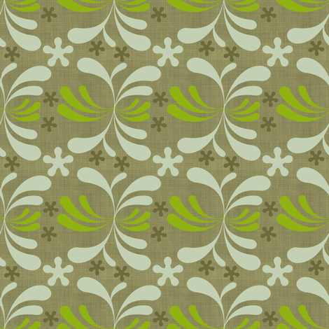 Spore baby fabric by brainsarepretty on Spoonflower - custom fabric