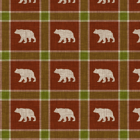 Very Small Bears fabric by thecalvarium on Spoonflower - custom fabric