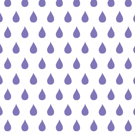Rainy Days (violet) fabric by pattyryboltdesigns on Spoonflower - custom fabric