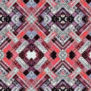 Weave Diamond Kaleidoscope
