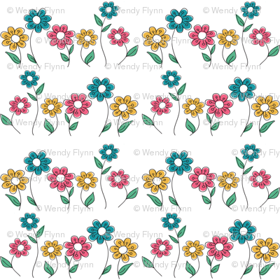 flowers_line
