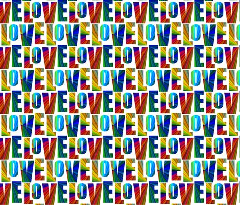 LOVE rainbow
