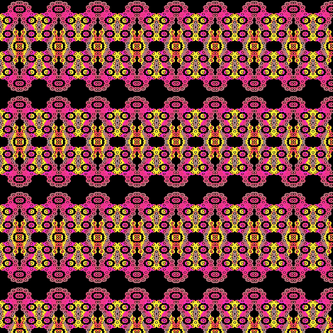 Granny_Square_Fractal-ed fabric by clotilda_warhammer on Spoonflower - custom fabric