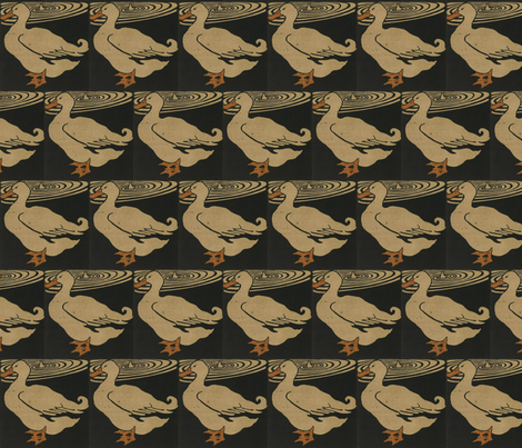 Duck fabric by zephyrus_books on Spoonflower - custom fabric