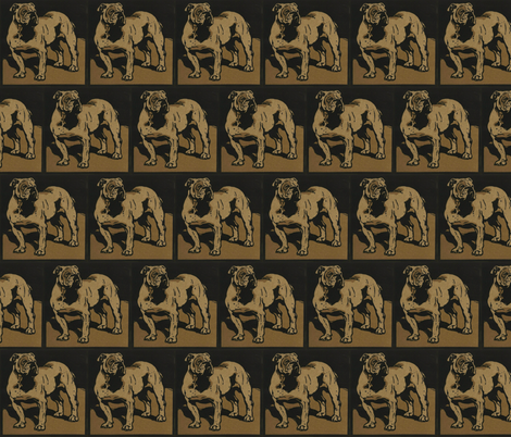 Dog fabric by zephyrus_books on Spoonflower - custom fabric