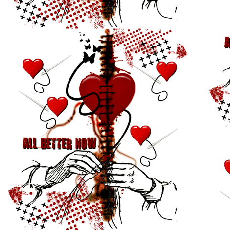 All Better Now fabric by whimzwhirled on Spoonflower - custom fabric