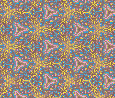 Candy Jester fabric by siya on Spoonflower - custom fabric