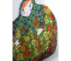 sac poupée russe vert