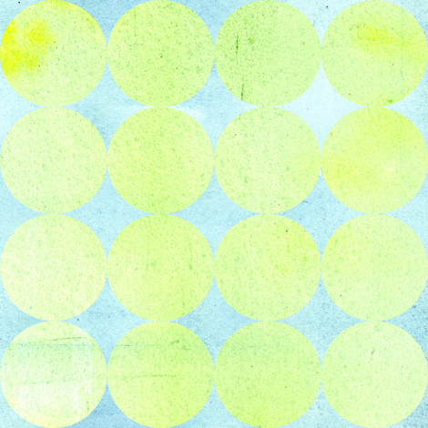 Green Dot fabric by countrygarden on Spoonflower - custom fabric