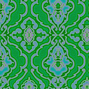 Super Chroma Bug Damask