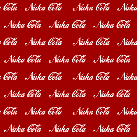 nuka cola fabric by tgmrandom on Spoonflower - custom fabric