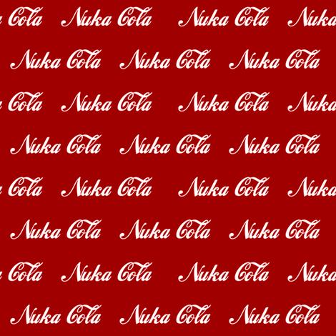 Nuka Cola fabric by tgmrandom on Spoonflower - custom fabric