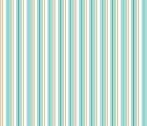 mini magnolia stripe fabric by einekleinedesignstudio on Spoonflower - custom fabric