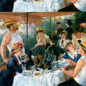 Pierre-Auguste Renoir's Luncheon of the Boating Party 1881