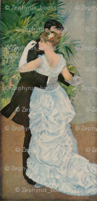 Pierre-Auguste Renoir's Dance in the Town 1883