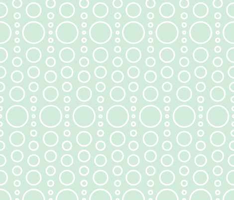 bubble seafoam fabric by myracle on Spoonflower - custom fabric