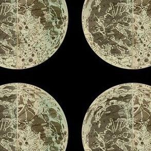 Astronomy Moon Print
