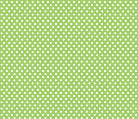 polka dot lime fabric by minimiel on Spoonflower - custom fabric
