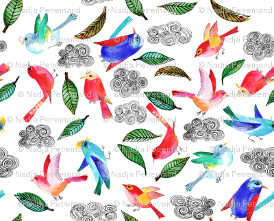 amour d oiseau semi L