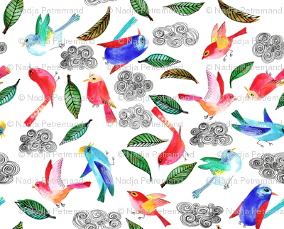 amour d oiseau semi XL