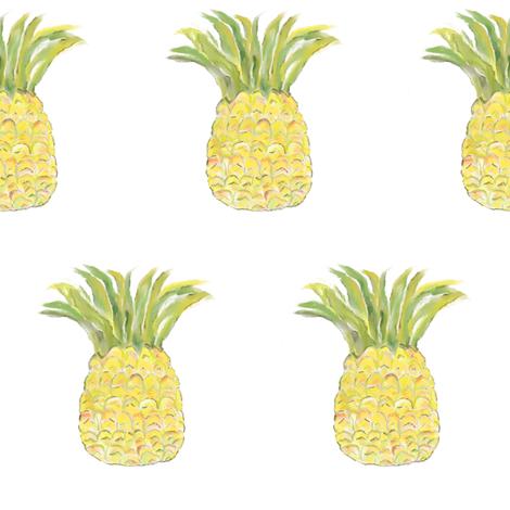 Pineapple Rainbow fabric by shirley_sipler on Spoonflower - custom fabric