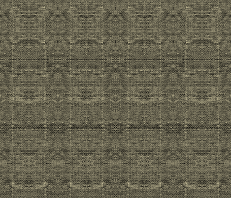 smaller black and khaki burlap