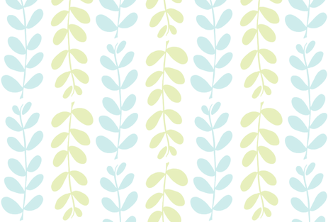 Olive Branches (lt. lime, lt. aqua & white) fabric by pattyryboltdesigns on Spoonflower - custom fabric