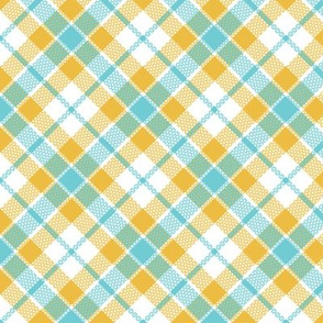 keep calm plaid