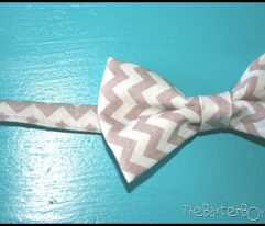 tan mini chevron