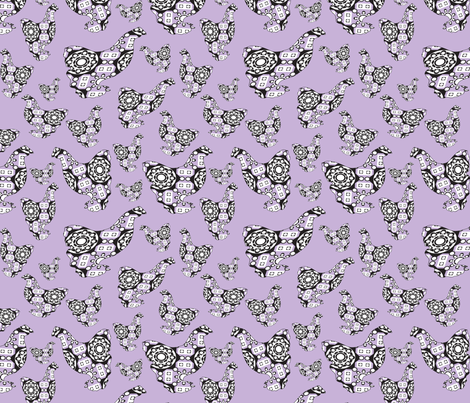 chicken-of-a-different-color-light-violet