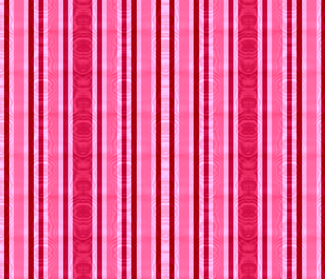 Belle Had Mirrors Everywhere! Striped Moire fabric by peacoquettedesigns on Spoonflower - custom fabric