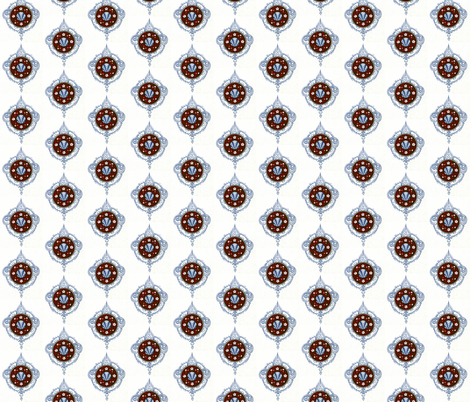 Medallion Design fabric by zephyrus_books on Spoonflower - custom fabric