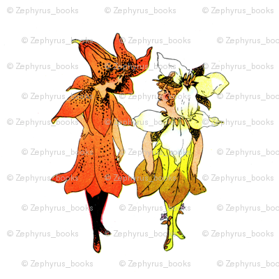 Flower Child (Children's Book) Trillium and Tiger-Lily