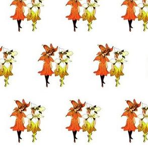 Flower Child (Children's Book) Trillium and Tiger-Lily