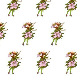 Flower Child (Children's Book) Wind-Flower (windflower)