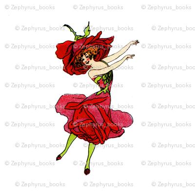 Flower Child (Children's Book) American Beauty Rose
