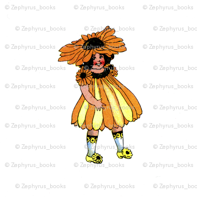 Flower Child (Children's Book) Black-Eyed Susan