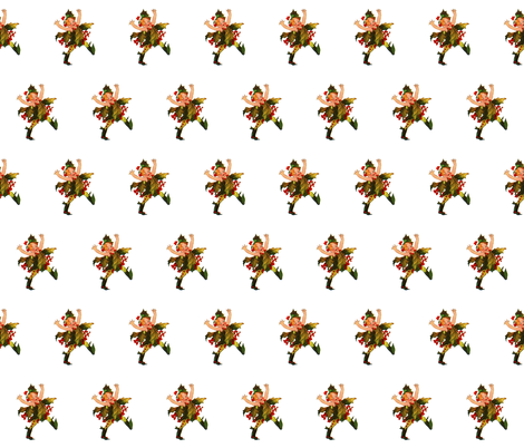 Flower Child (Children's Book) Holly fabric by zephyrus_books on Spoonflower - custom fabric