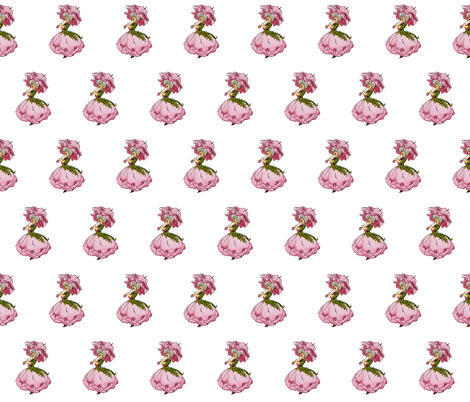Flower Child (Children's Book) Peony fabric by zephyrus_books on Spoonflower - custom fabric