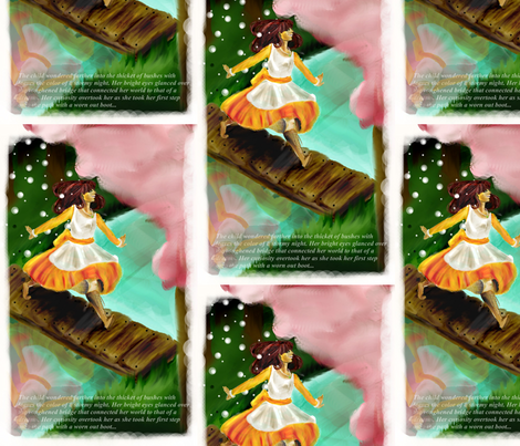 Skip_Girly fabric by kerawolf on Spoonflower - custom fabric