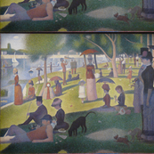Georges Seurat's Sunday Afternoon 1885