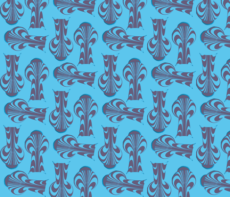 cephalopod fabric by nalo_hopkinson on Spoonflower - custom fabric