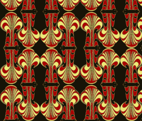 iron trees fabric by nalo_hopkinson on Spoonflower - custom fabric