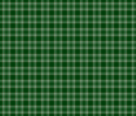 Green Plaid fabric by zephyrus_books on Spoonflower - custom fabric