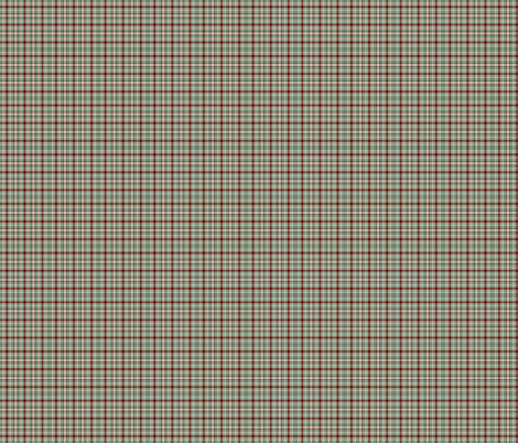 Green, Red and White Plaid fabric by zephyrus_books on Spoonflower - custom fabric