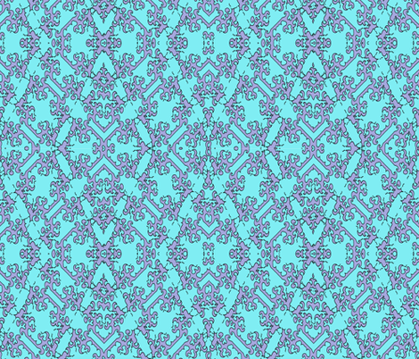 My Modern Tribe fabric by leahvanlutz on Spoonflower - custom fabric