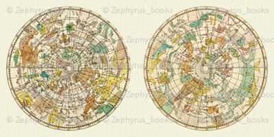 Astronomy Zodiac Constellation Star Map