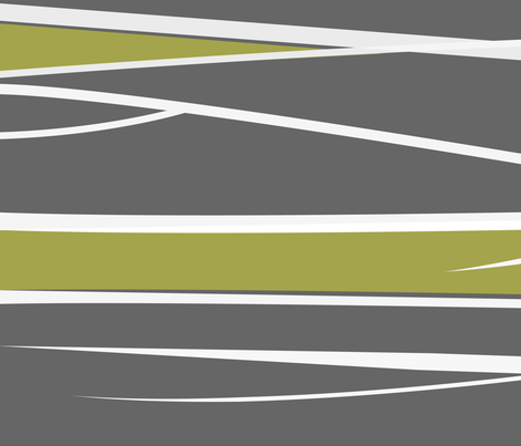 modernatural 2 - eco green fabric by thecalvarium on Spoonflower - custom fabric